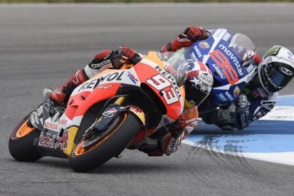 Indianapolis MotoGP fight with Jorge Lorenzo surprised Marc Marquez