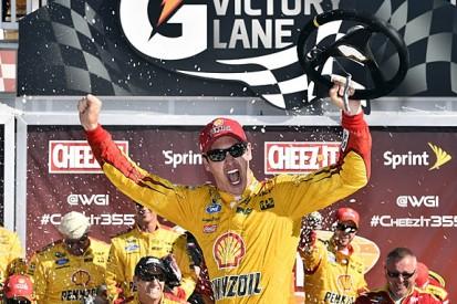 NASCAR Watkins Glen: Joey Logano wins after Kevin Harvick runs dry