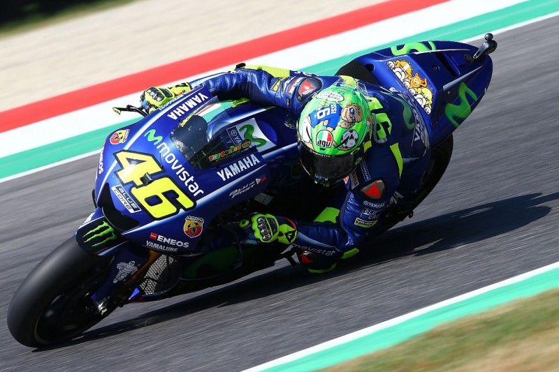 Mugello MotoGP: Valentino Rossi flies to the top in practice three