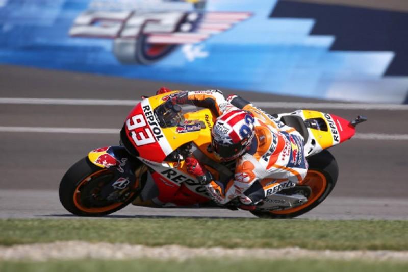 MotoGP Indianapolis: Marc Marquez on top in third practice session