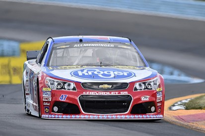 NASCAR Watkins Glen: AJ Allmendinger takes another road course pole