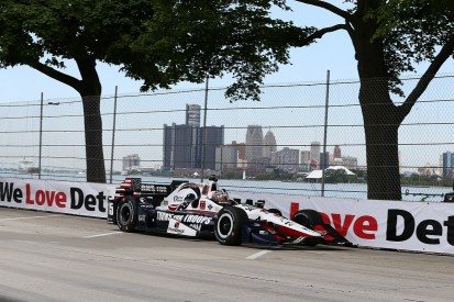Detroit IndyCar: Graham Rahal fastest in first practice