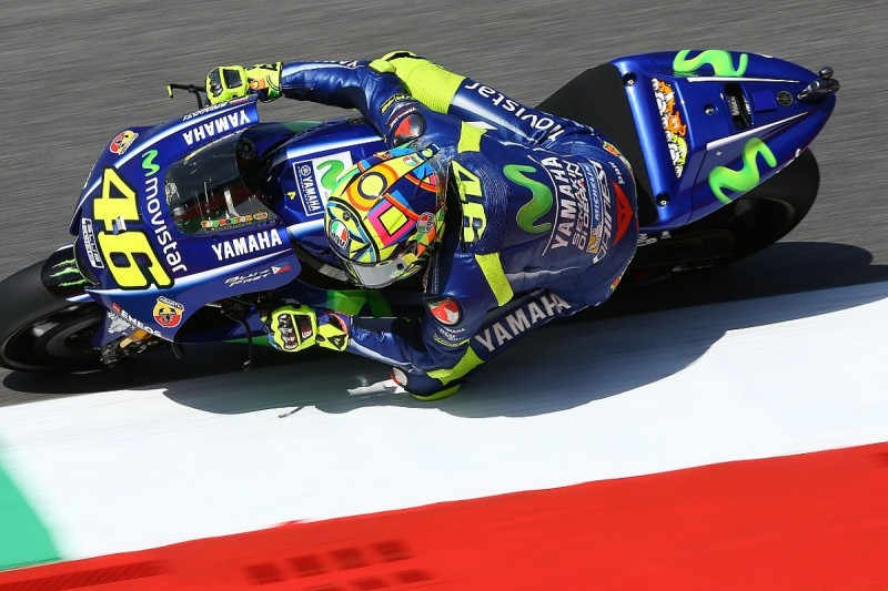 MotoGP Mugello: Valentino Rossi 'suffered a lot' with arm pain