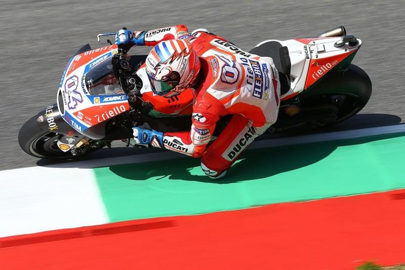 Mugello MotoGP: Dovizoso leads Ducati one-two in practice one
