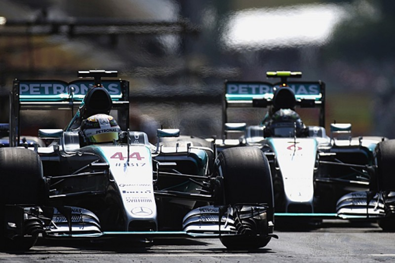 Lewis Hamilton, Nico Rosberg now used to F1 title fight - Mercedes
