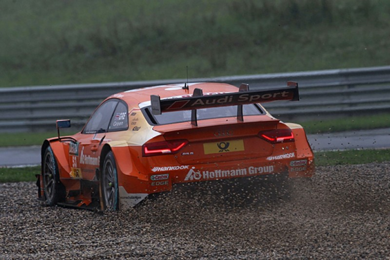 Jamie Green looking to solve wet-weather problems in DTM