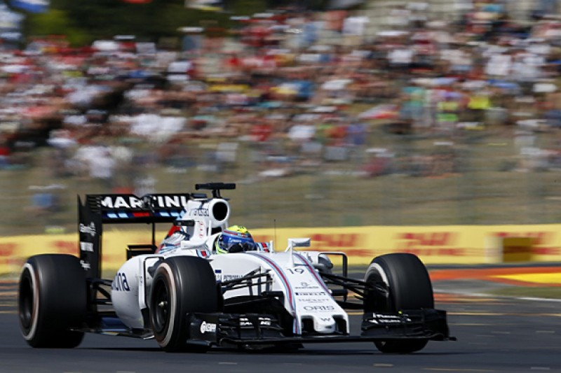 Felipe Massa exceeding Williams F1 team's expectations