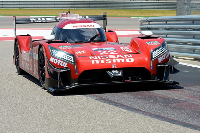 Nissan puts 2015 WEC race programme on hold to focus on testing