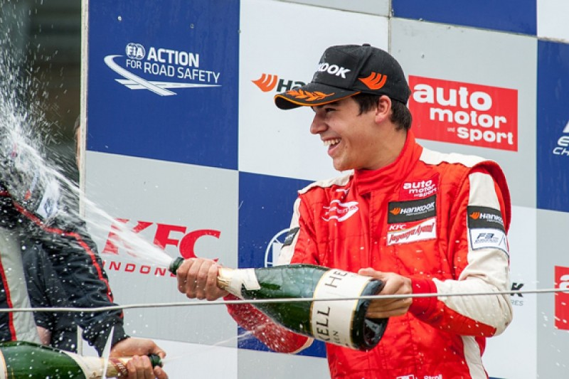 Ferrari protege Lance Stroll says calming down has helped F3 form