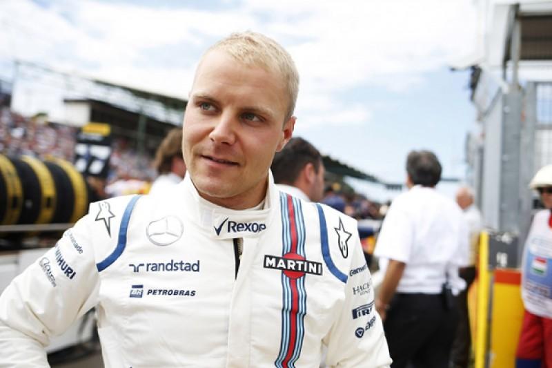 Williams F1's Valtteri Bottas resigned to career of back exercises