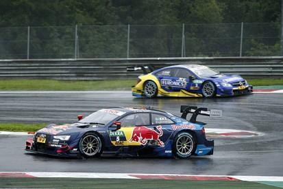 Red Bull Ring DTM: Audi's Mattias Ekstrom beats Gary Paffett in wet