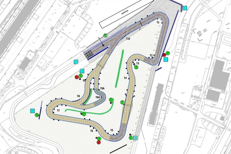 Silverstone 2018 World Rallycross track revealed