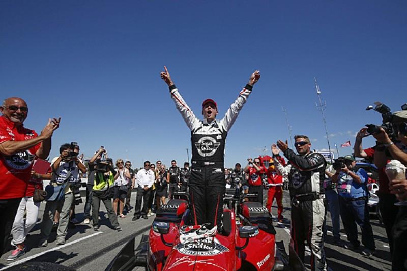 Mid-Ohio IndyCar: Graham Rahal gains on Juan Pablo Montoya with win
