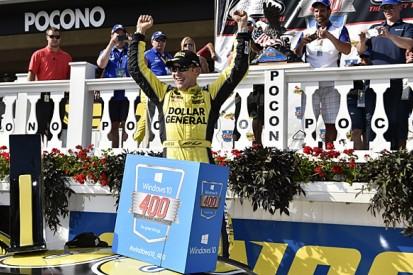 Pocono NASCAR: Matt Kenseth wins, Joey Logano, Kyle Busch run dry