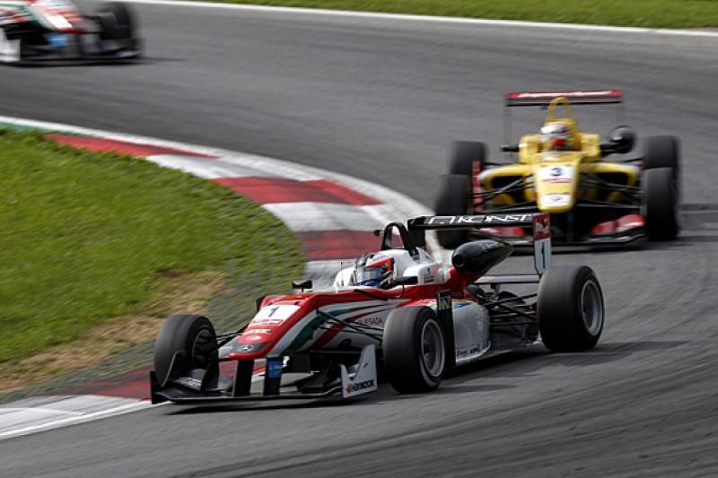 Red Bull Ring European F3: Rosenqvist beats Giovinazzi in race two