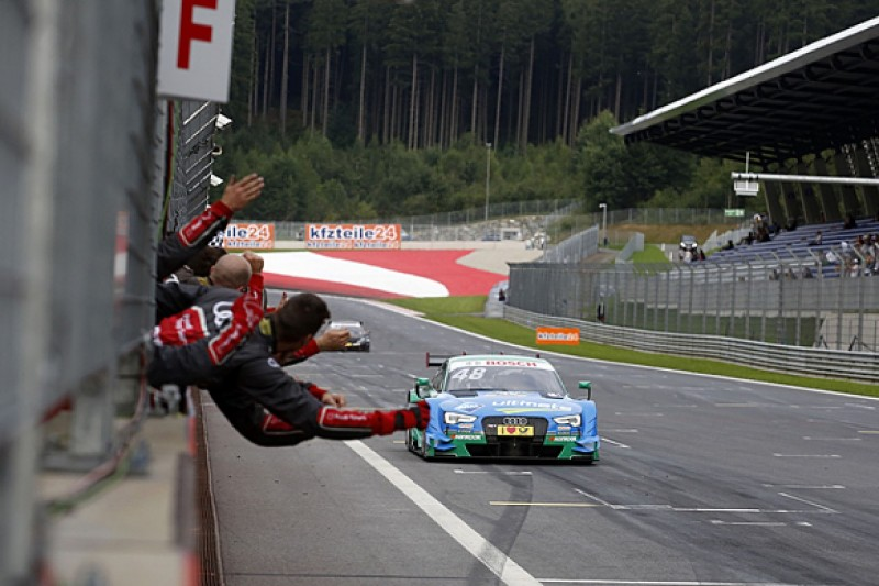 Red Bull Ring DTM: Mortara wins, Wehrlein takes points lead