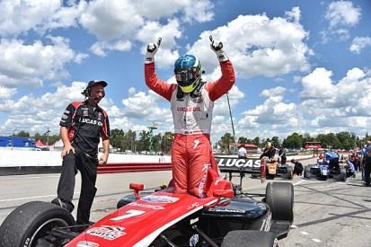 Mid-Ohio Indy Lights: Enerson wins, title rivals Harvey/Pigot clash