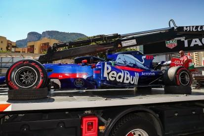 Toro Rosso's Tost dismayed by Perez Monaco GP move on Kvyat