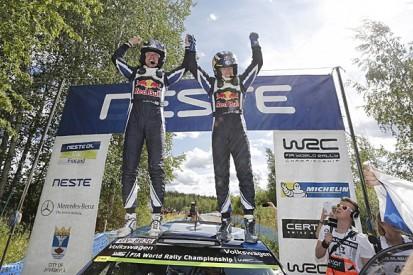 WRC Rally Finland: Jari-Matti Latvala beats Sebastien Ogier to win