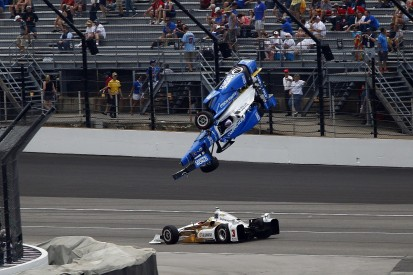 Scott Dixon escapes horrific Indianapolis 500 crash with Jay Howard