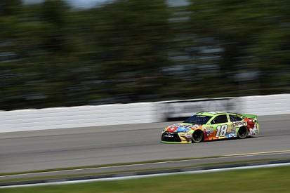 Pocono NASCAR: Kyle Busch's form continues with pole for Joe Gibbs