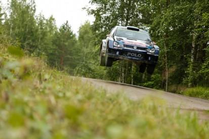 WRC Rally Finland: Jari-Matti Latvala fending off Sebastien Ogier
