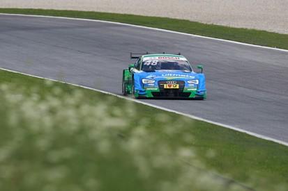 Red Bull Ring DTM: Edoardo Mortara leads practice for Audi again