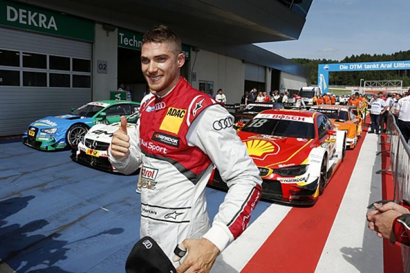 Red Bull Ring DTM: Edoardo Mortara leads all-Audi front row