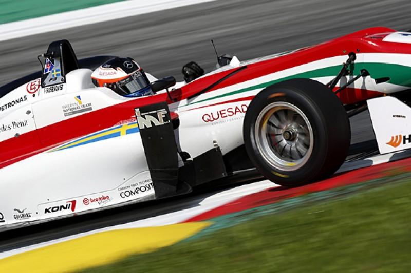 Red Bull Ring European F3: Felix Rosenqvist tops free practice