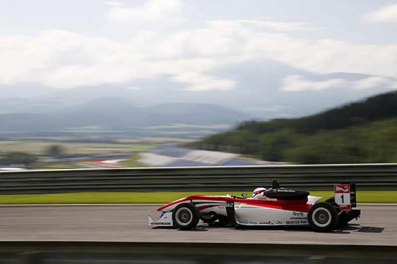 Red Bull Ring European F3: Rosenqvist takes pole for race one