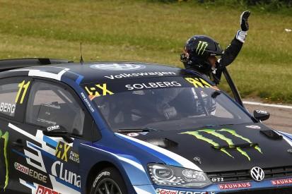 Lydden Hill World RX: Solberg remains top depsite Hansen Q4 win
