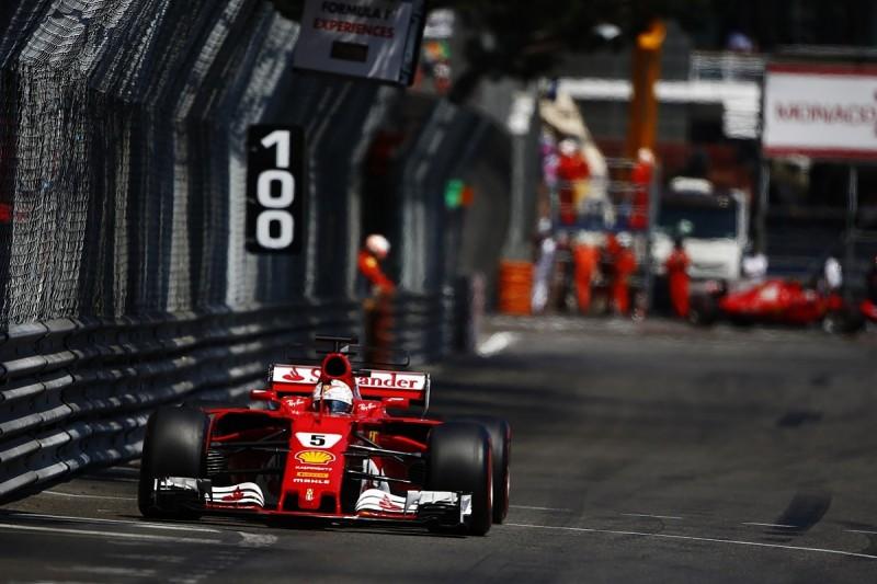 Sebastian Vettel has denied Ferrari had team orders in Monaco