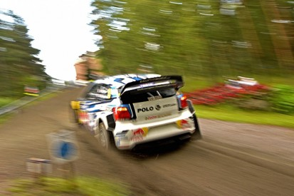 WRC Rally Finland: Sebastien Ogier pips Kris Meeke on superspecial