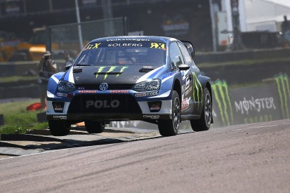 Lydden Hill World RX: Solberg leads overnight after double wins