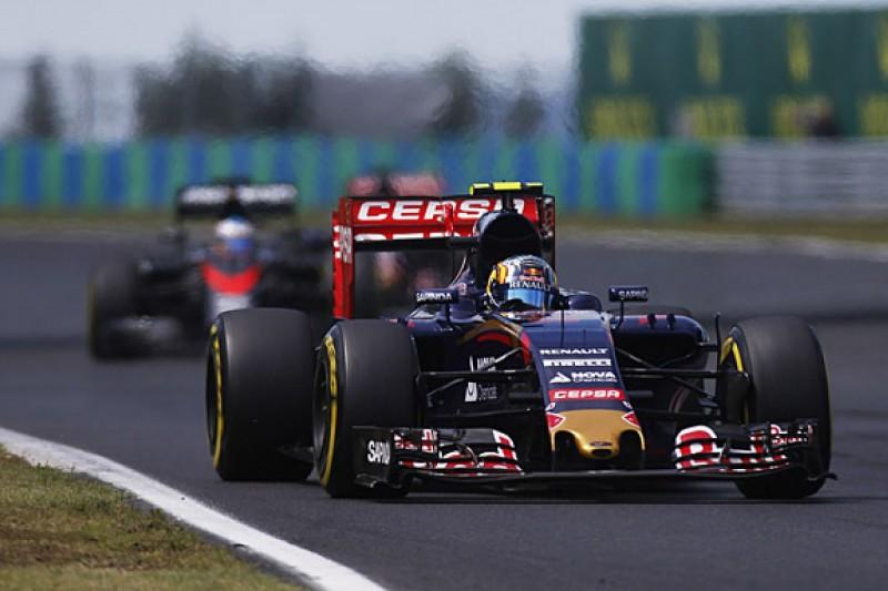 Carlos Sainz Jr questions Toro Rosso strategy calls in Hungarian GP