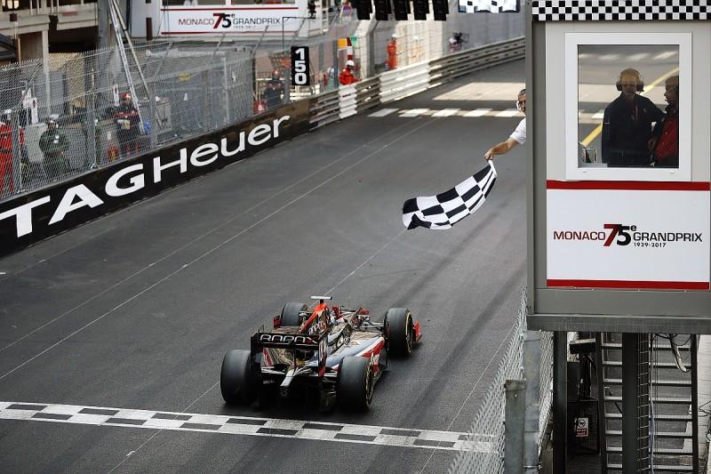 Monaco F2: McLaren junior de Vries takes sprint race for debut win