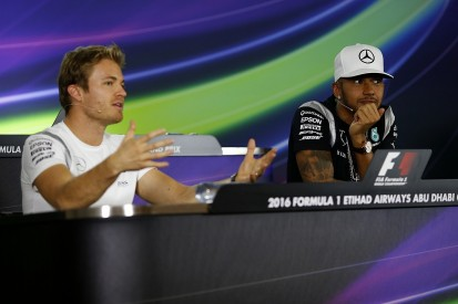 Lewis Hamilton 'a different person' without Nico Rosberg - Mercedes
