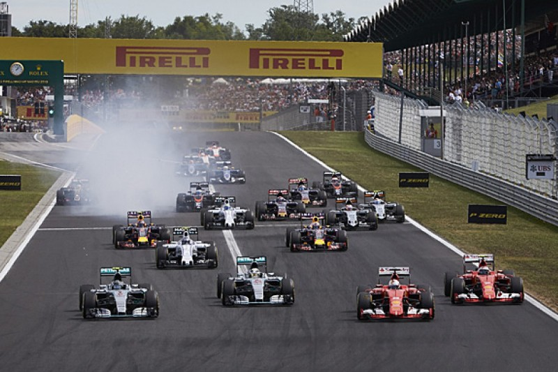 """Lewis Hamilton expects F1 starts to become """"more unpredictable"""""""