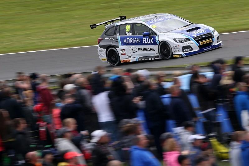 Plato to swap cars with Subaru BTCC team-mate Sutton in test