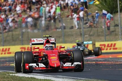 Losing Ferrari 1-2 in Hungarian GP painful - Kimi Raikkonen