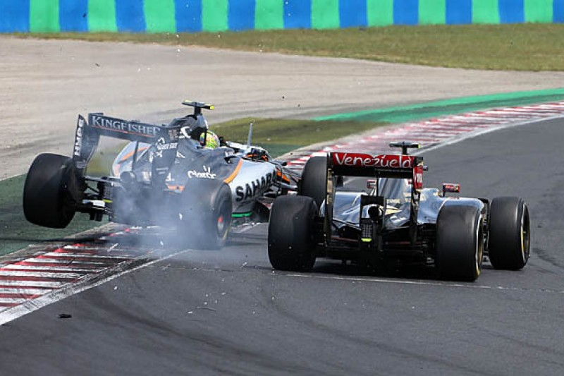 Lotus F1 drivers halfway to race bans based on penalty points