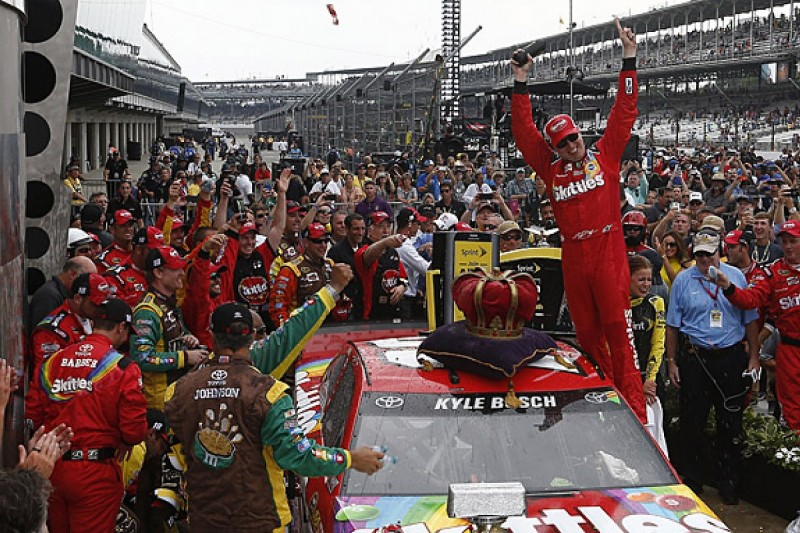 Brickyard 400: Kyle Busch takes another NASCAR Sprint Cup win