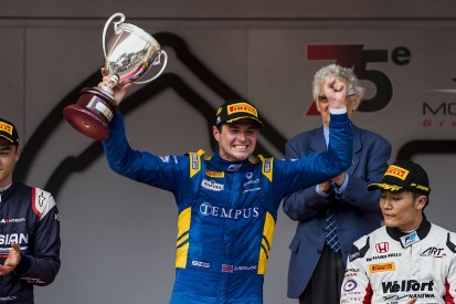Monaco F2: Rowland takes first win as Leclerc retires