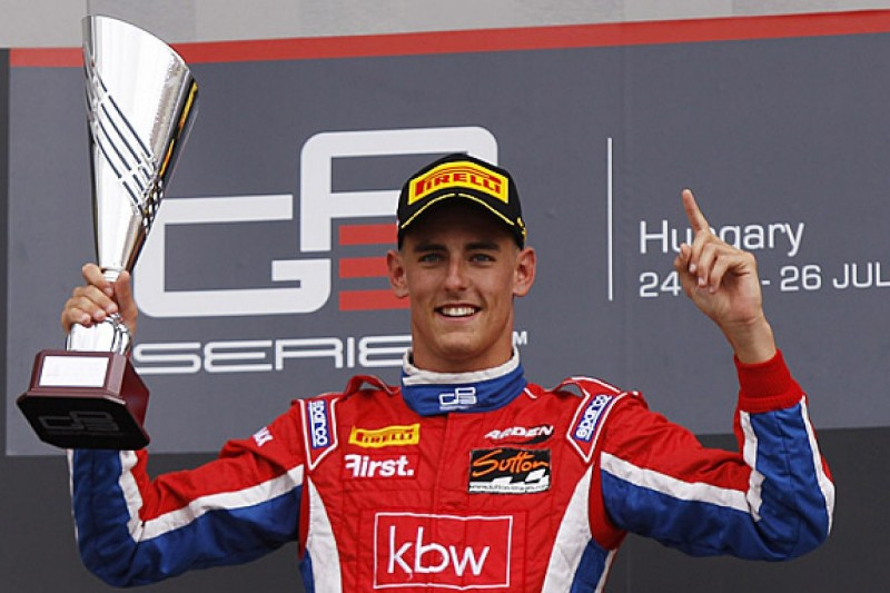 GP3 Hungary: Kevin Ceccon takes second consecutive sprint race win