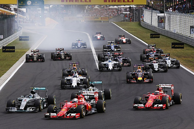 Sebastian Vettel wins thrilling Hungarian Grand Prix