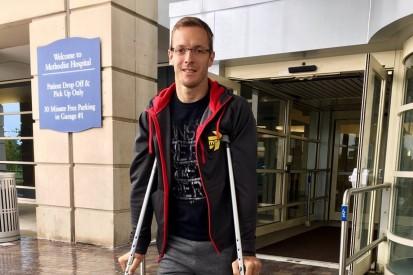 Sebastien Bourdais eyes 2017 IndyCar return after leaving hospital