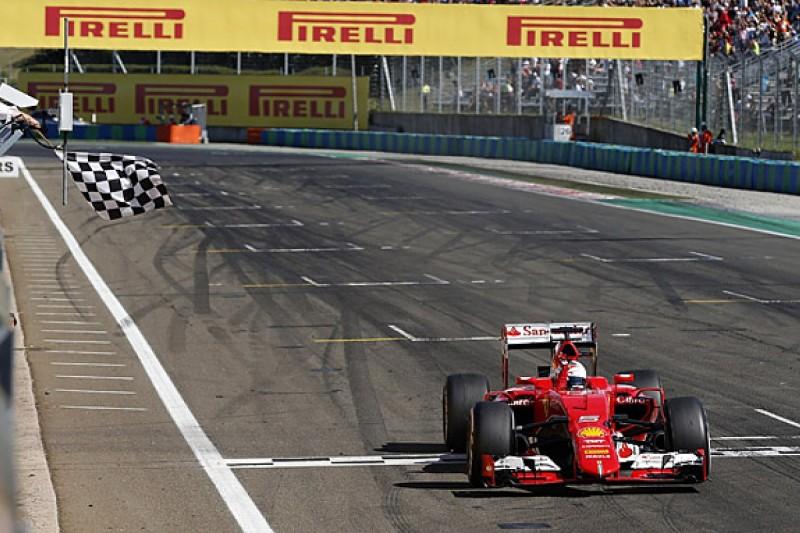 Sebastian Vettel dedicates Hungarian GP F1 win to Jules Bianchi