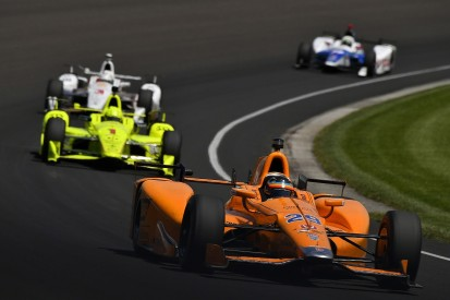 Indy 500: Fernando Alonso refuses to play it safe early on