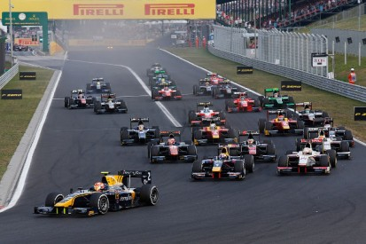 Hungary GP2: Alex Lynn takes first feature race win in DAMS one-two