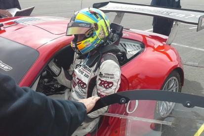 Memo Gidley completes first test since 2014 Daytona crash